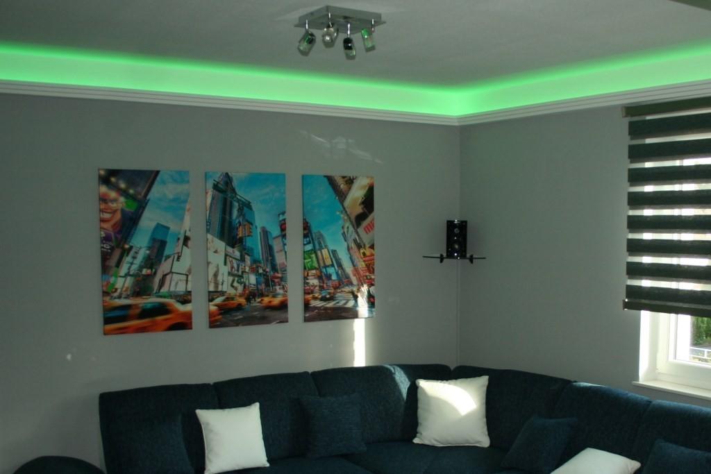 stuckleiste dbml 110 st f r indirekte beleuchtung decke bendu. Black Bedroom Furniture Sets. Home Design Ideas