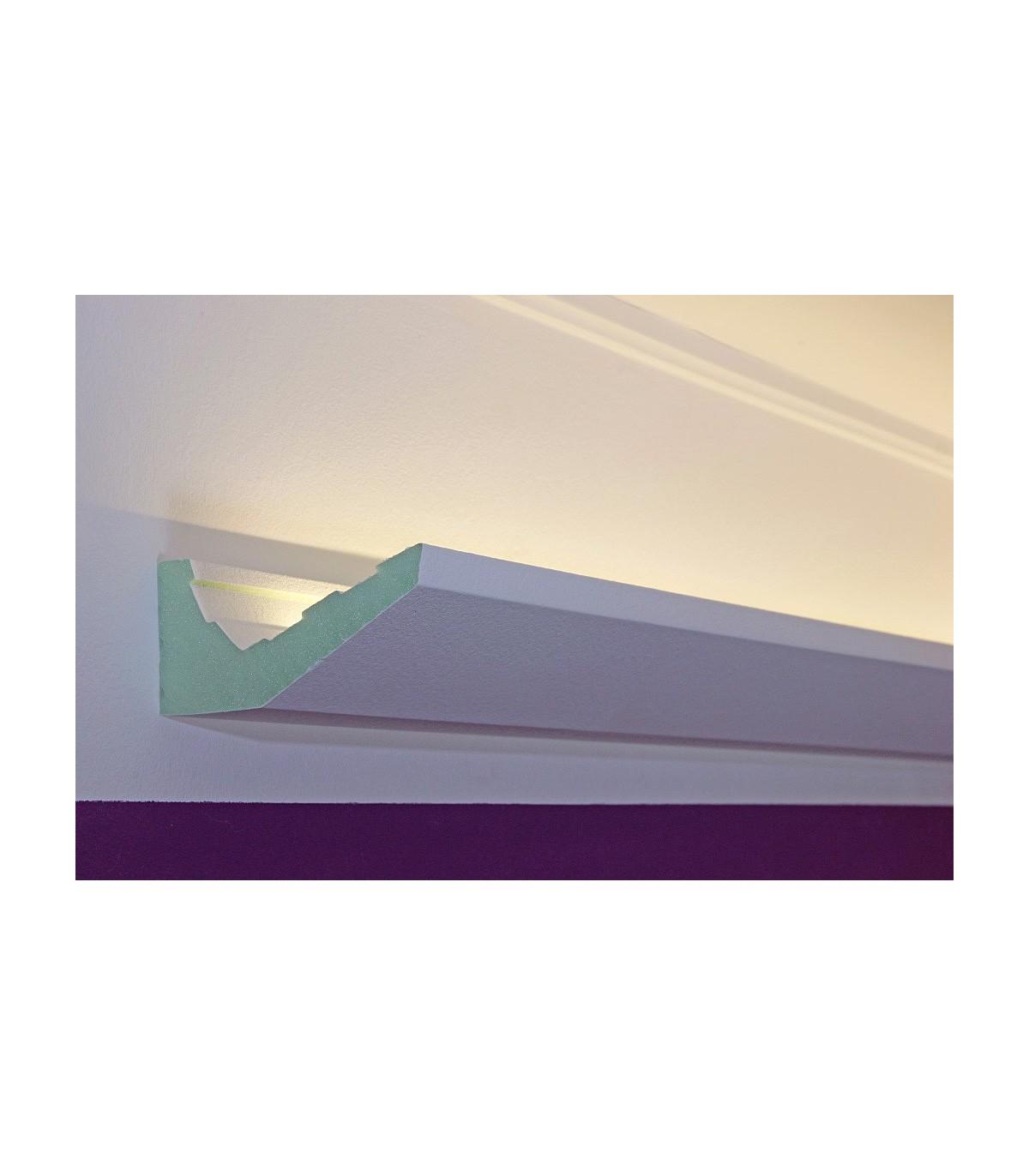 led stuckleisten dbml 120 pr f r indirekte beleuchtung decke bendu. Black Bedroom Furniture Sets. Home Design Ideas