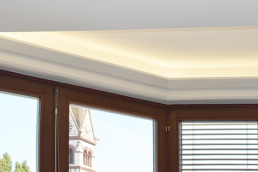 stuckleiste dbml 120 st f r indirekte beleuchtung decke bendu. Black Bedroom Furniture Sets. Home Design Ideas