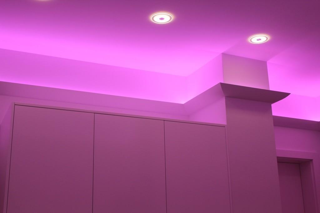 stuckleiste dbkl 125 pr f r indirekte beleuchtung decke bendu. Black Bedroom Furniture Sets. Home Design Ideas