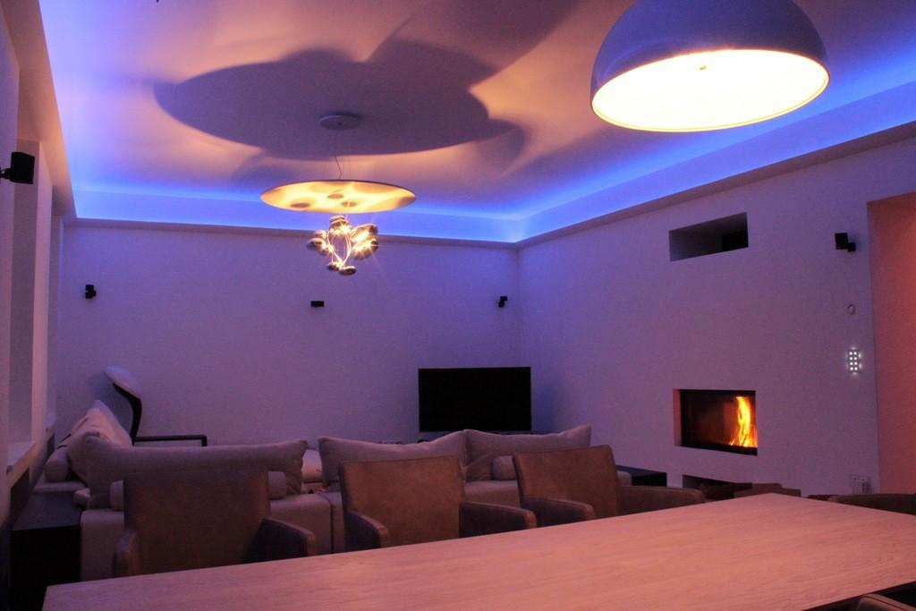 Stuckleiste für indirekte LED Beleuchtung Decke \