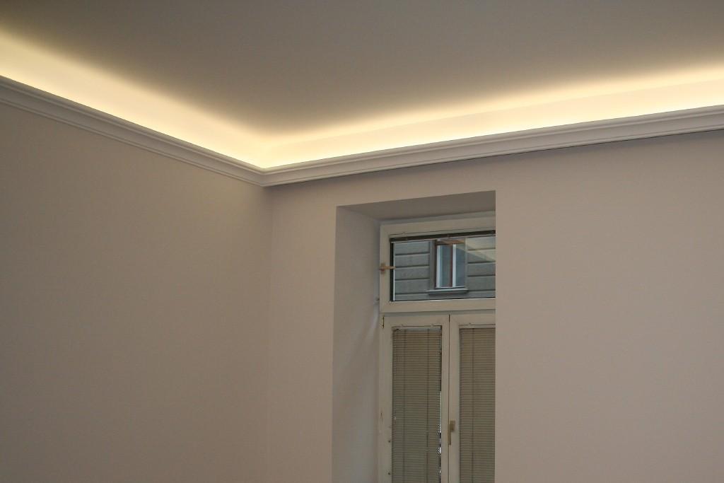 Lichtvouten-Profile für indirekte LED Beleuchtung Decke \