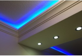 Stucco for indirect LED lighting - DBKL-82-PR