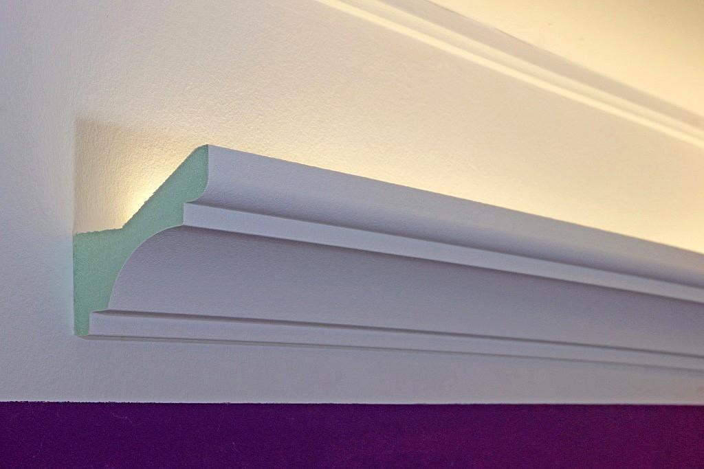 lichtvouten profile dbkl 82 pr f r indirekte led beleuchtung decke bendu. Black Bedroom Furniture Sets. Home Design Ideas
