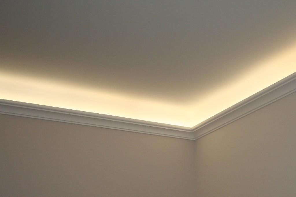 stuckleiste dbkl 82 st f r indirekte led beleuchtung decke bendu. Black Bedroom Furniture Sets. Home Design Ideas