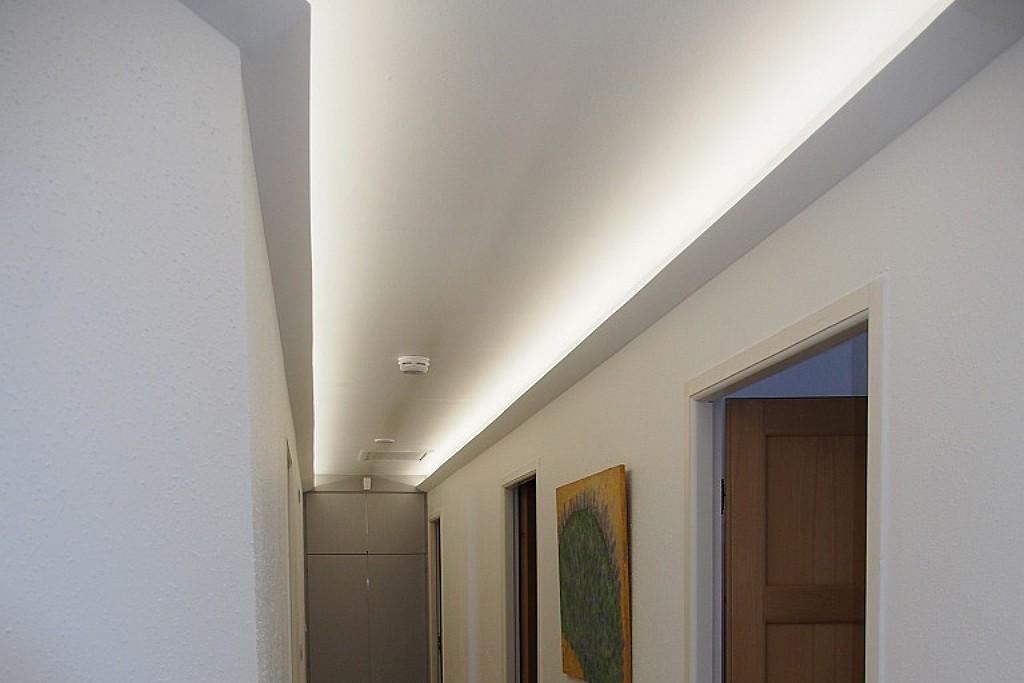 LED Lichtvouten-Profil für indirekte Deckenbeleuchtung \