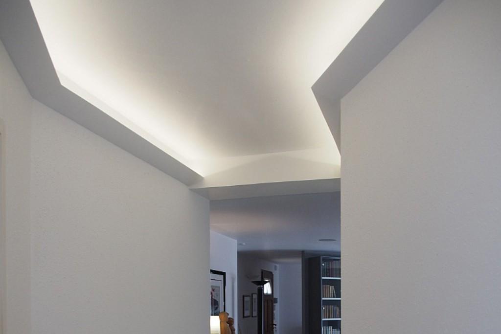 lichtvouten profile dbkl 95 pr f r indirekte deckenbeleuchtung bendu. Black Bedroom Furniture Sets. Home Design Ideas