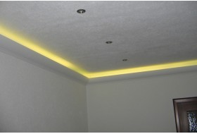 Stucco for indirect LED lighting - DBKL-100-ST