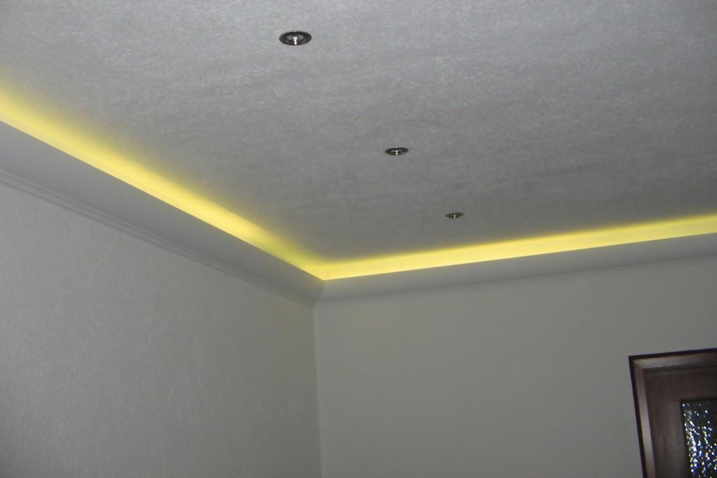 Lichtvoute für indirekte LED Beleuchtung Decke \