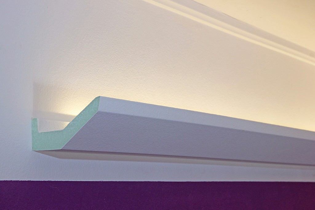 stuckleiste dbml 70 pr f r indirekte led beleuchtung decke bendu. Black Bedroom Furniture Sets. Home Design Ideas