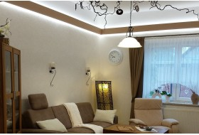 """LED Stuckprofil für indirekte Wandbeleuchtung """"WDML-65B-PR"""""""