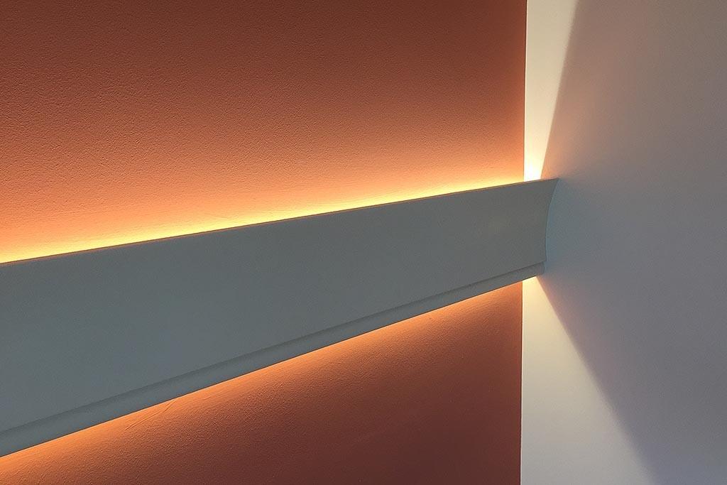 led stuckprofil wdkl 65b pr f r indirekte beleuchtung. Black Bedroom Furniture Sets. Home Design Ideas