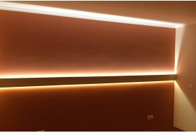 "LED Stuckprofil für indirekte Wandbeleuchtung ""WDKL-65B-ST"""