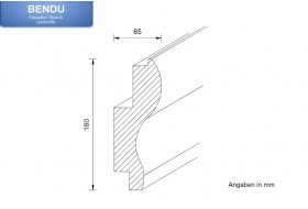 "Stucco for indirect lighting - ""WDKL-65A-PR"""