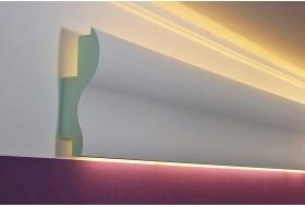 "LED Stuckprofil für indirekte Wandbeleuchtung ""WDKL-65A-PR"""