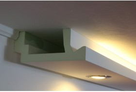 Stucco for indirect LED lighting - WDML-200A-PR
