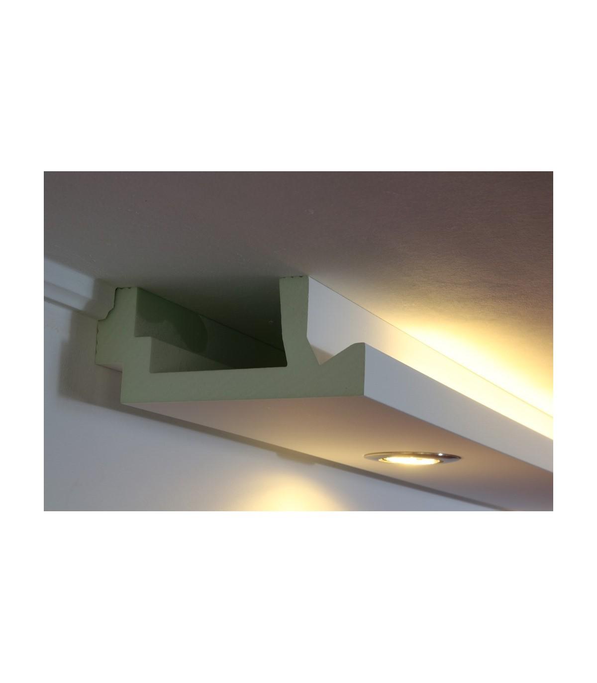 stuckprofil wdml 200a pr f r indirekte beleuchtung wand. Black Bedroom Furniture Sets. Home Design Ideas