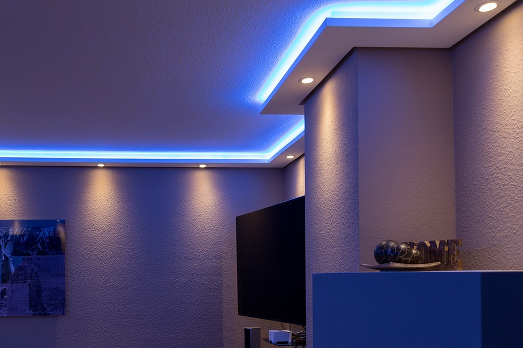 stuckleiste wdml 200a st f r indirekte beleuchtung wand decke bendu. Black Bedroom Furniture Sets. Home Design Ideas