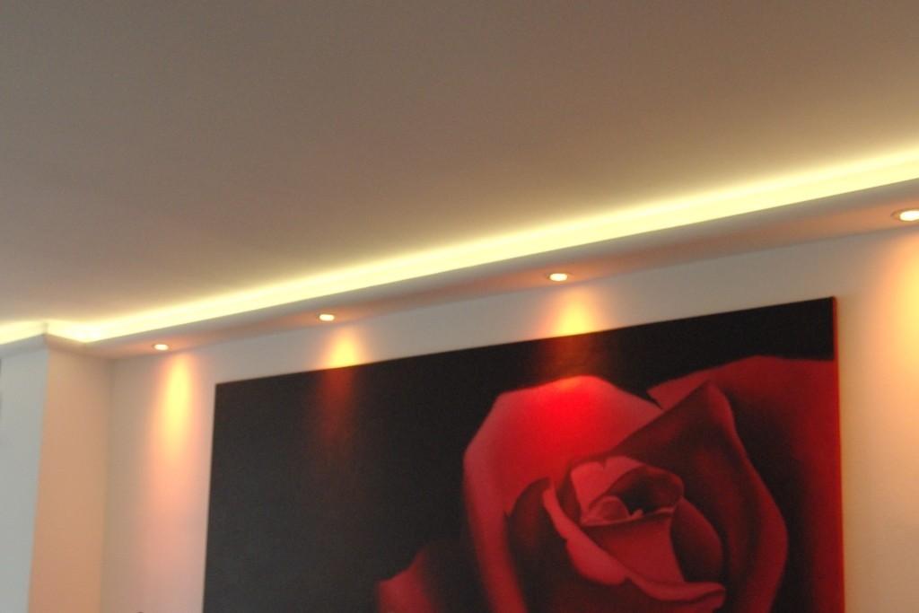 stuckprofile wdkl 200a st f r indirekte beleuchtung wand decke bendu. Black Bedroom Furniture Sets. Home Design Ideas