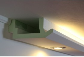 Stucco for indirect LED lighting - WDML-200B-PR