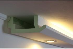 Elegant Stuck Profile Für Indirekte Beleuchtung Wand.