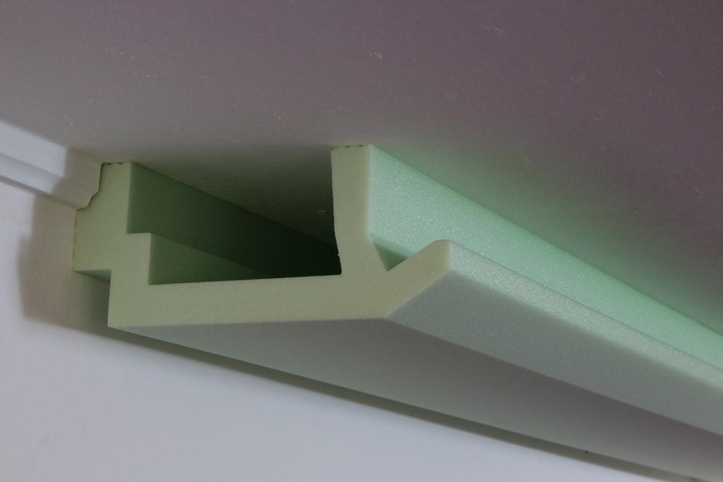 """Stuck-Profil für indirekte Beleuchtung Wand und Decke """"WDML-200B-ST"""""""