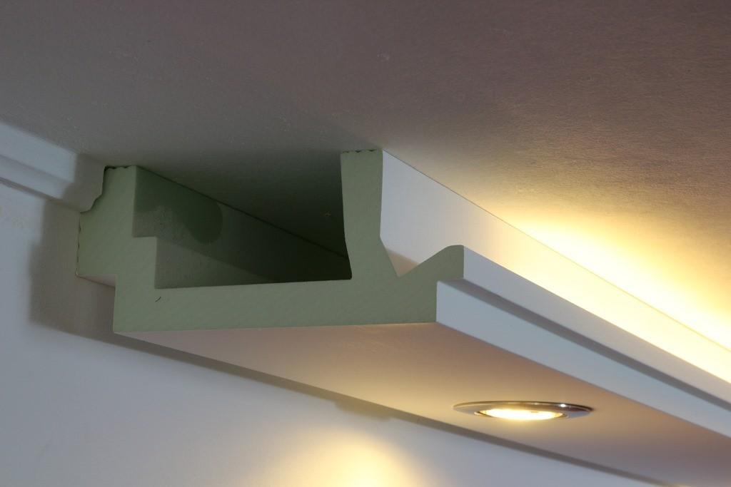 """LED Stuckleisten """"WDML-200C-PR"""" für indirekte Beleuchtung Wand & Decke"""