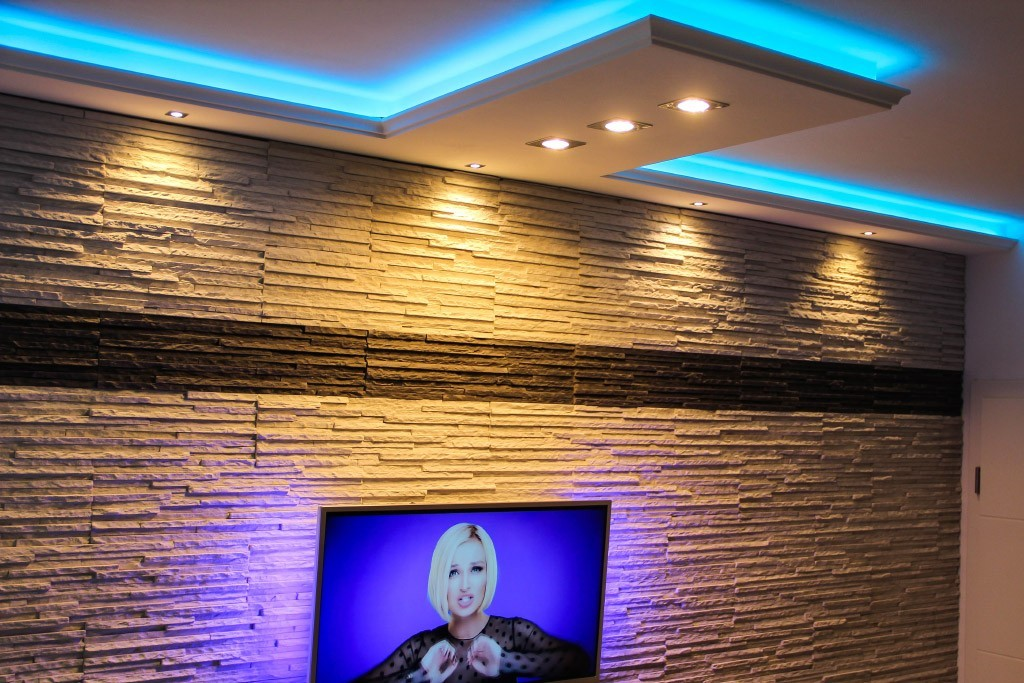 stuckprofil wdkl 200c pr f r indirekte beleuchtung wand decke bendu. Black Bedroom Furniture Sets. Home Design Ideas