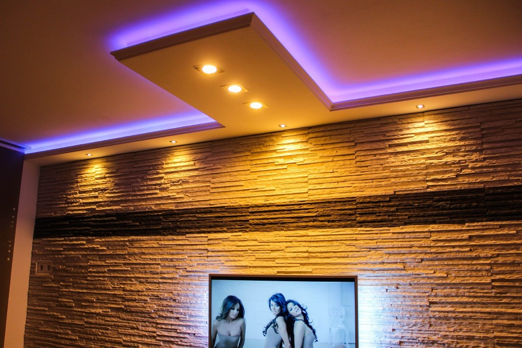 Stucco for indirect led lighting wdkl 200c st for Led deckenbeleuchtung