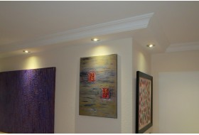 """Lichtprofil für den Einbau von LED Spots """"BSKL-290A-PR"""""""