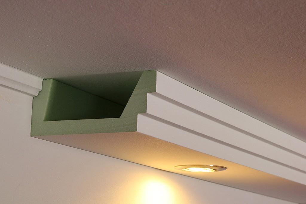 lichtprofil bsml 180a pr f r direkte led beleuchtung der wand bendu. Black Bedroom Furniture Sets. Home Design Ideas