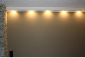 "Lighting profile for installation of LED spotlights ""BSML-180A-ST"""