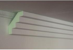 """Stuckleisten zur Kombination mit Lichtprofilen """"SLPML-82A-PR"""""""