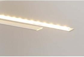 Anwendungsbeispiel - Flaches Aluprofil zur Kühlung von LED Stripes im Betrieb.