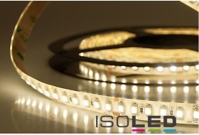 LED strip warm white with 9.6 watts per meter at 24 volts, IP66