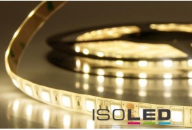 LED strip warm white with 14.4 watts per meter at 24 volts, IP66