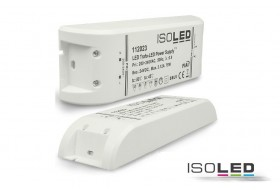 LED transformer Ultraslim 0-75 watts at 24 volts DC