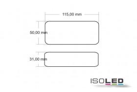 LED Trafo 0-60 Watt, 24 Volt/DC mit Rund- u. Flachstecker