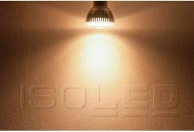 Dimmbarer LED Spot warm-weiß mit 6.0 Watt für Sockel GU10