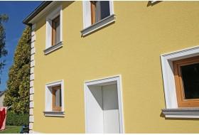 """Beispiel 4 - Fensterfasche """"FAKL-120-PR"""" für die Einrahmung von Fenster und Türen an der Aussenfassade."""