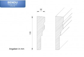 "Window surrounds for the exterior façade ""FAKL-135-PR"""