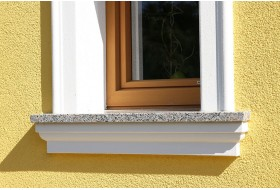 """Fensterbankprofil für die Außenfassade """"SBKL-120-PR"""""""