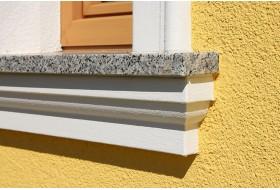 """Fensterbankgesimse für die Außenfassade """"SBKL-120-ST"""""""