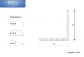 """Quoins for the exterior façade """"EBML-240240-PR"""""""