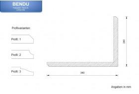 """Quoins for the exterior façade """"EBML-240340-PR"""""""