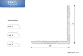 """Quoins for the exterior façade """"EBML-340340-PR"""""""