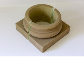 "Column base for column cladding ""BAKL-200A-PR"""