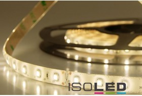 LED strip warm white with 4.8 watts per meter at 24 volt, IP66