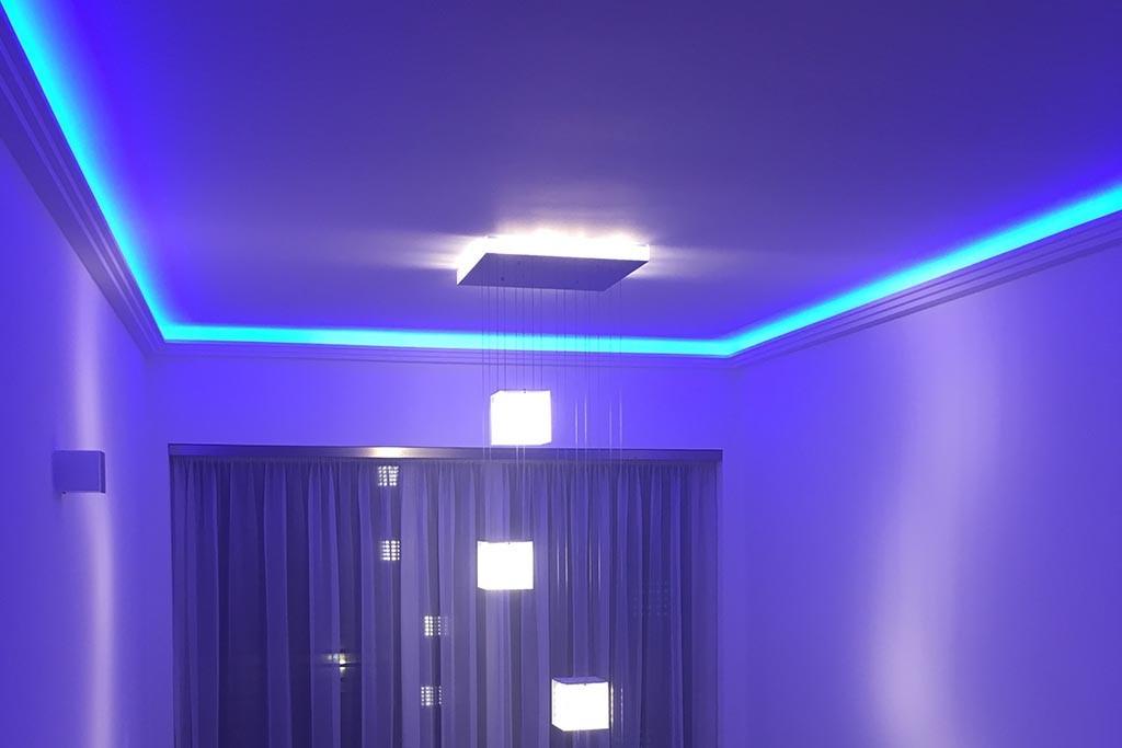 stuck leisten dbml 110 pr f r indirekte beleuchtung decke bendu. Black Bedroom Furniture Sets. Home Design Ideas