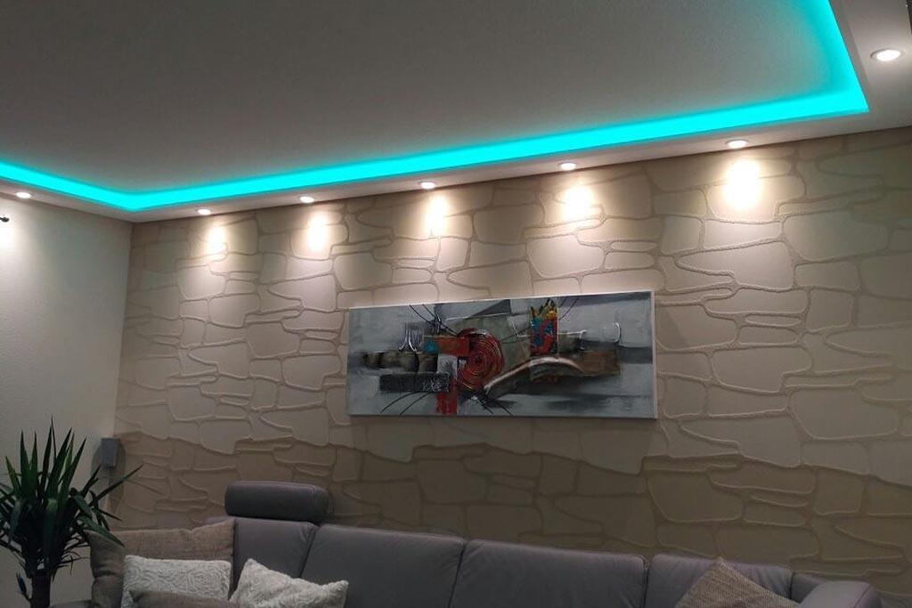 """Stuck-Profile für indirekte Beleuchtung Wand und Decke """"WDML-200B-PR"""""""